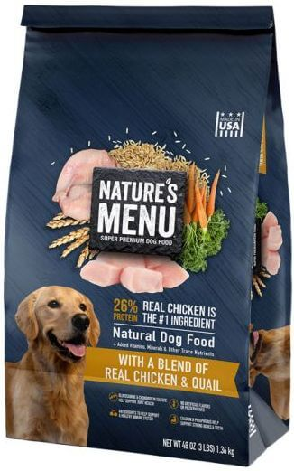 Sunshine Mills Recalls Nature's Menu Dog Food