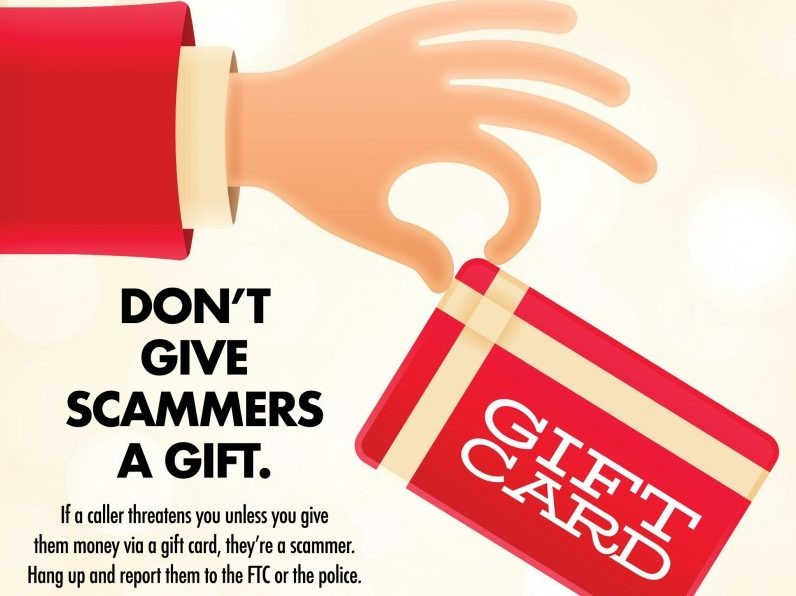 Did Someone Tell You To Pay With Gift Cards? It's A Scam