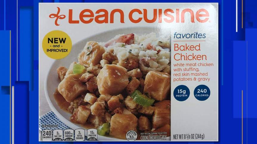 Nestlé Prepared Foods Recalls Lean Cuisine Baked Chicken Meal Products Due to Possible Foreign MatterContamination