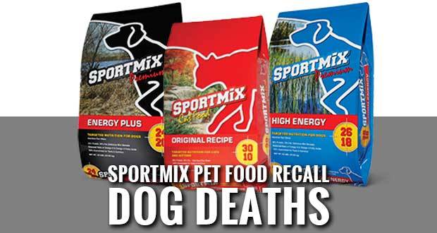 FDA Alert: Certain Lots of Sportmix Pet Food Recalled for Potentially Fatal Levels of Aflatoxin 🦮