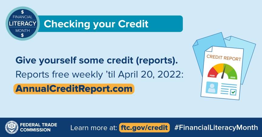 Give Yourself Some Credit (Credit Reports, that is)